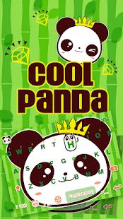 Cool-Panda-Kika-Keyboard-Theme