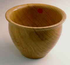 "Photo: Tim Aley - Bowl - 8"" x 5 1/2"" - Cherry"