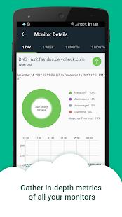 Web & Server Monitor Site24x7 - náhled