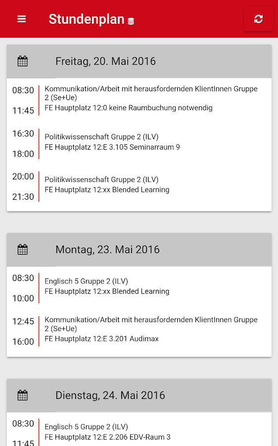studentsLife by FH Kärnten- screenshot