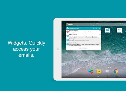Aqua Mail- Email app for Any Email Screenshot