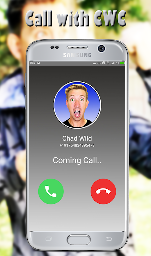 Chad Wild Call You - Video Call Simulator Screenshot