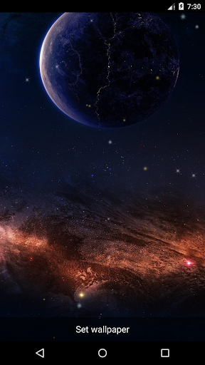 Planet 10 Live Wallpaper