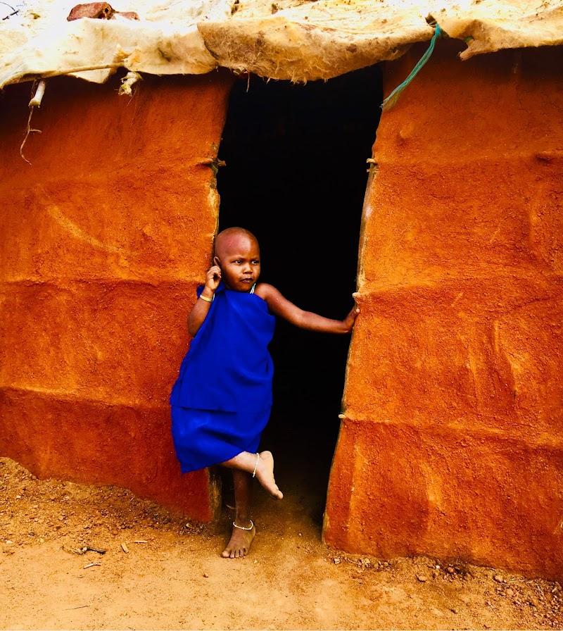 Bimba Masai di Muffinmella