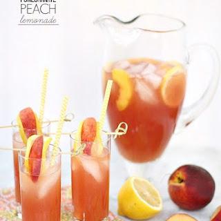 Pomegranate Peach Lemonade