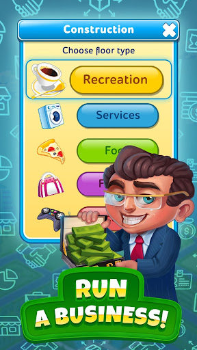 Pocket Tower: Building Game & Megapolis Kings apkdebit screenshots 4