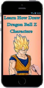 Learn How Draw Dragon Ball Z Characters - náhled