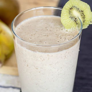 Spicy Kiwi Banana Smoothie