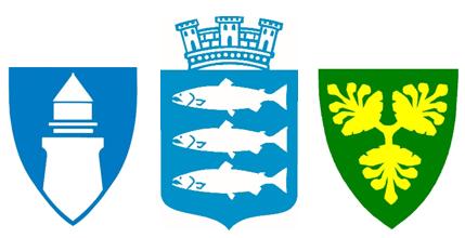 Logo nye Lindesnes kommune