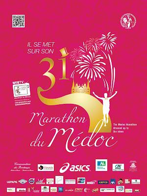 Affiche marathon du médoc 2015_l'arche