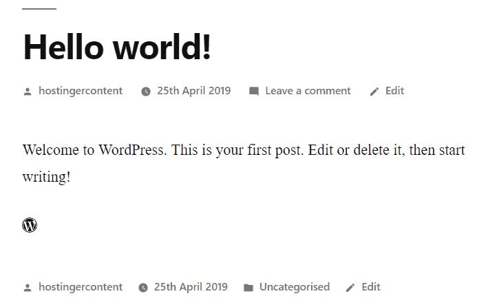 resultado do ícone gerado pelo código html inserido na página