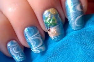 nail-art-soffiodidea-water-marble-estate