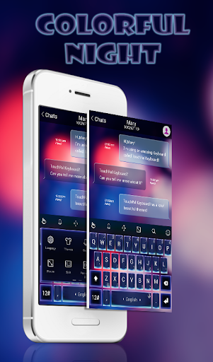 TouchPal Colorful Night Theme