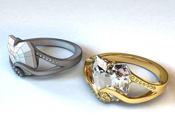 Trang sức kim cương, vàng tuy nhỏ nhưng có giá trị lại cực lớn