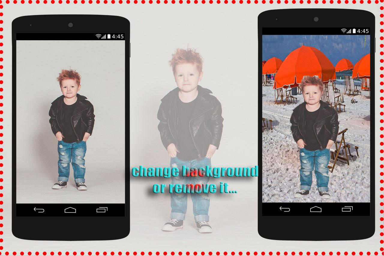 Photo Background Changer  2017- screenshot