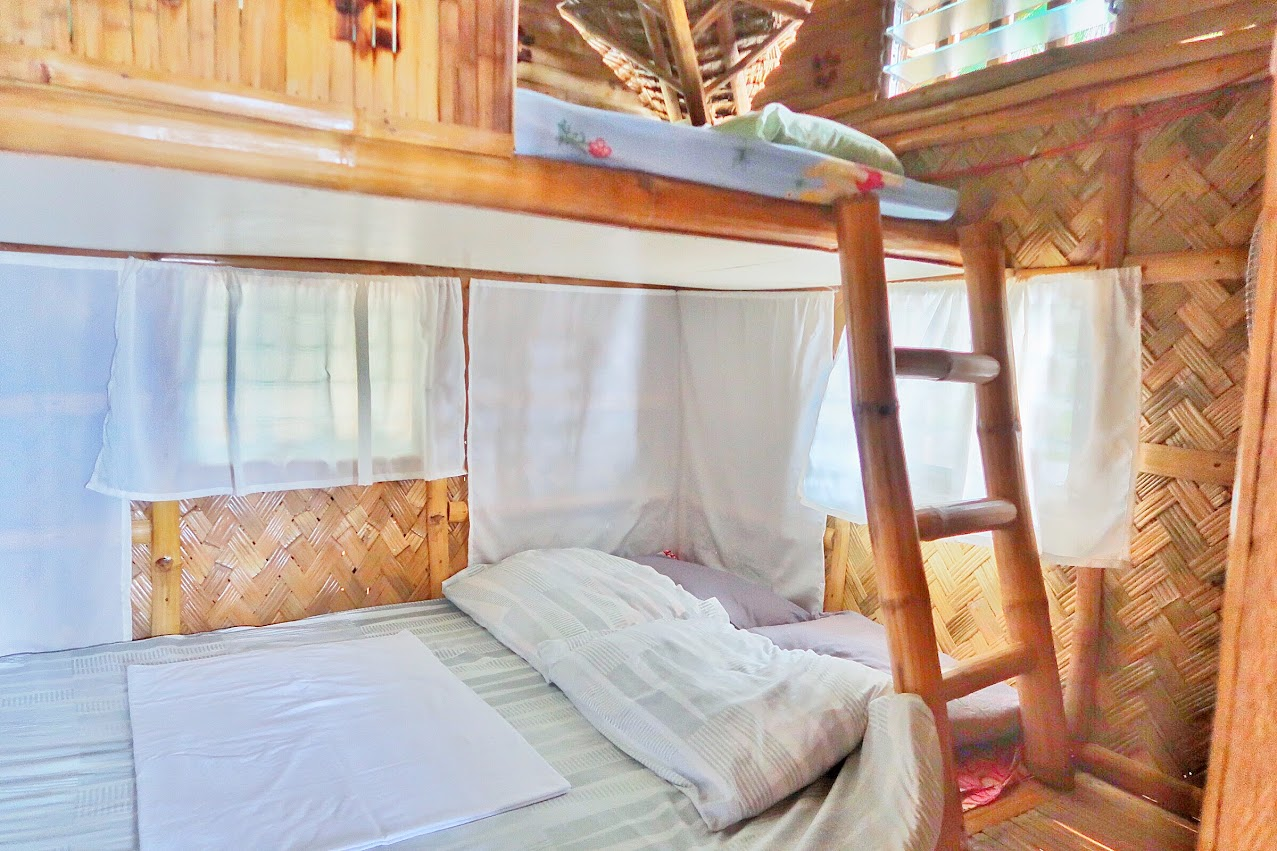 There are also nipa huts near blue lagoon that is perfect for large groups who wants to have more privacy