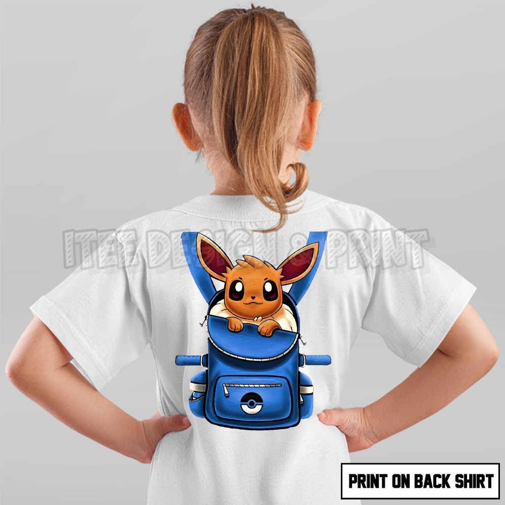 Eevee Pokemon Backpack 16