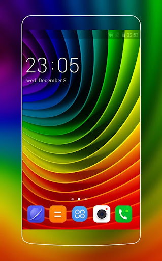 Rainbow Theme for Lenovo A2010 1.0.1 screenshots 1