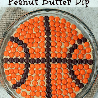 Pick and Roll Peanut Butter Dip.