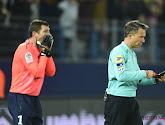 Le gardien de but de Caen, Rémy Vercoutre, a été exclu par l'arbitre pour avoir protesté contre la célébration d'un but de Lille