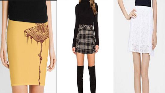 Short Skirt Design Ideas - náhled
