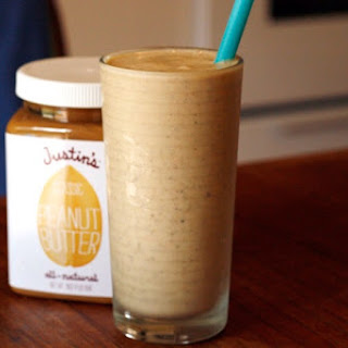 Banana & Peanut butter healthy smoothie.