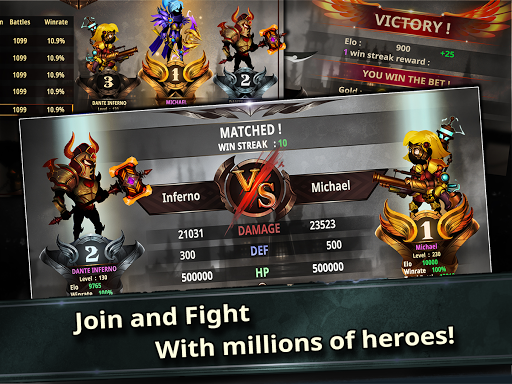 Stickman Legends: Shadow Wars Jeux pour Android screenshot
