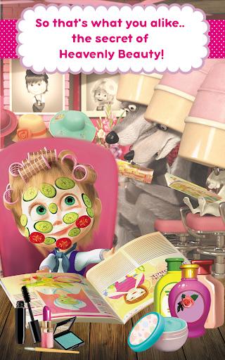 Masha and the Bear: Hair Salon and MakeUp Games 1.0.7 screenshots 9
