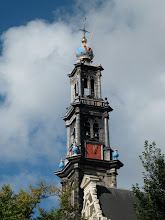 Photo: Spire. There were rather a lot of them in Amsterdam, and several chimed.