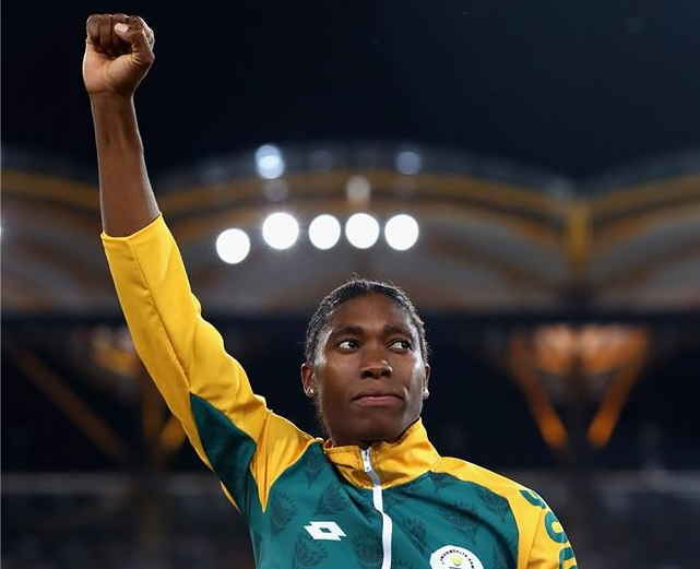 Salute: Mandla Mandela joins South Africans in support of Caster Semenya's right to compete without an 'assault' on her human rights