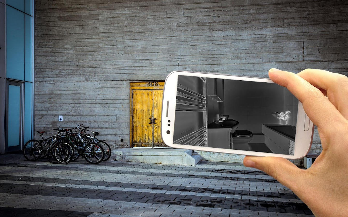 Wall scanner xray prank android apps on google play for Picture on wall app