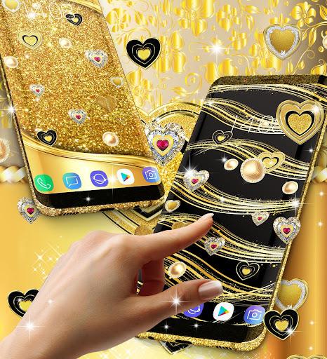 Gold live wallpaper 2020 android2mod screenshots 5