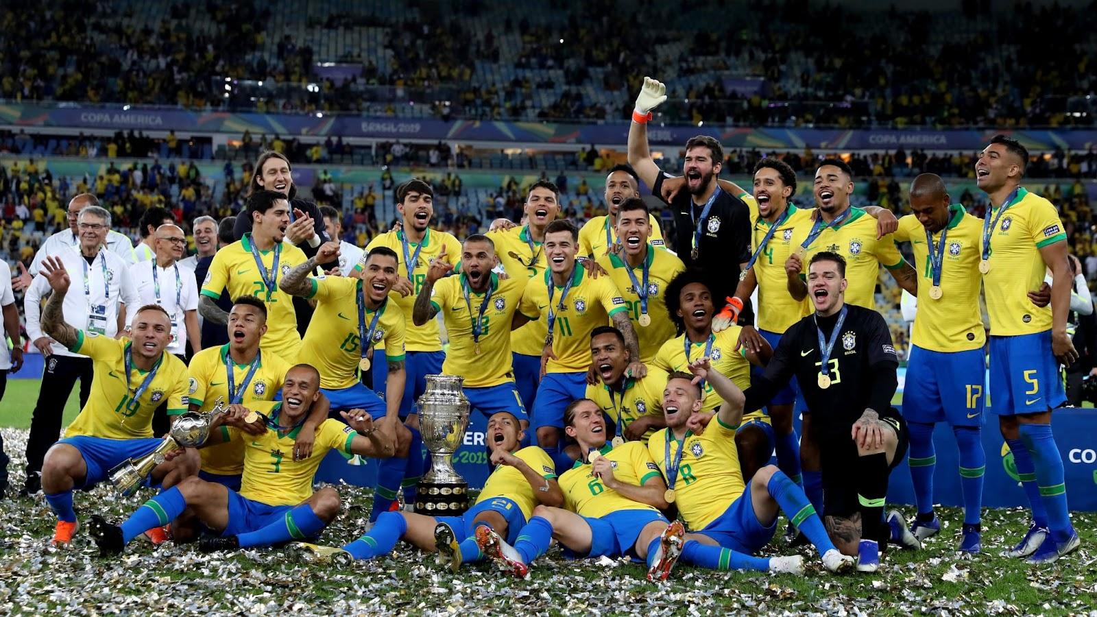 Brazil không chỉ có đội tuyển bóng đá nam vô địch World Cup 5 lần mà còn đội tuyển bóng đá nữ cũng vô địch 3 lần