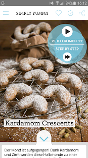 SIMPLY YUMMY – Backrezepte- screenshot thumbnail