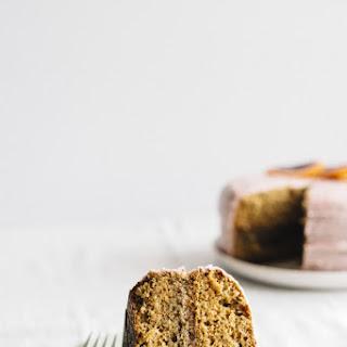 Vanilla Blood Orange Cake.