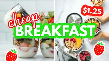 Cheap Breakfast - YouTube Thumbnail Template