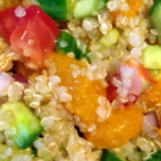 Quinoa Salad w/Fresh Fruits and Vegetables