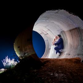 Tunnel by Lood Goosen (LWG Photo) - Wedding Bride & Groom ( wedding photography, wedding photographers, wedding day, weddings, wedding, bride and groom, wedding photographer, bride, groom, bride groom,  )