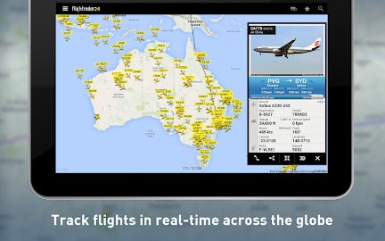 Flightradar24 - Flight Tracker Screenshot 1