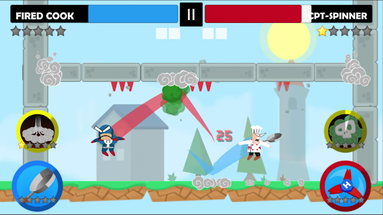 Game Jumping Ninja Battle - Two Player battle Action APK for Windows Phone