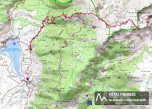 Photo: Carte de randonnées Nº8. Cerdagne - Capcir. 1:50.000. IGN.