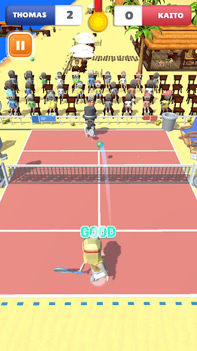 Cute Tennis Top Spin Master Challenge android2mod screenshots 3