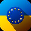 UAH - EUR Ukrainian hryvnia to Euro converter icon