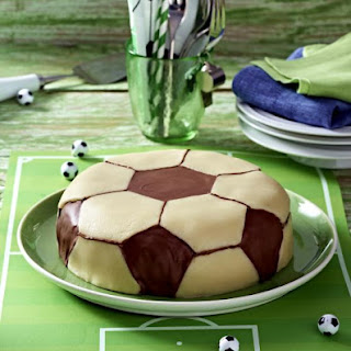 Chocolate Hazelnut Soccer Cake