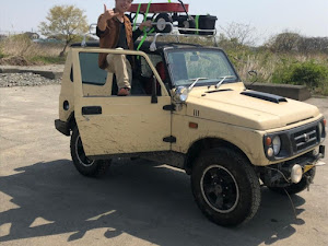 ジムニー JA22W 砂漠横断仕様のカスタム事例画像 🍀ふうさん🌿【⚓️ARCADIA⚓】さんの2019年12月26日12:53の投稿