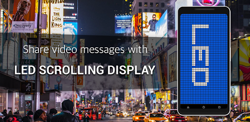 Led scrolling display : share led messages for PC