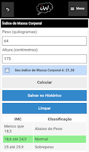 Índice de Massa Coporal (IMC) - náhled