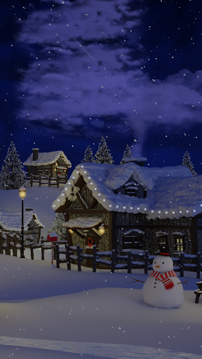 Christmas Village Live Wallpaper screenshot 7