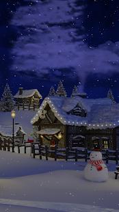 Christmas Village Live Wallpaper - Screenshot