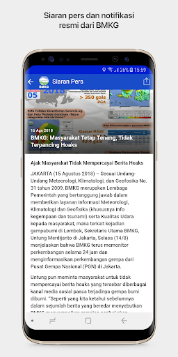 Info BMKG 2.4.1 screenshots 8